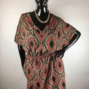 Banana Republic Print Dress w/ Pockets